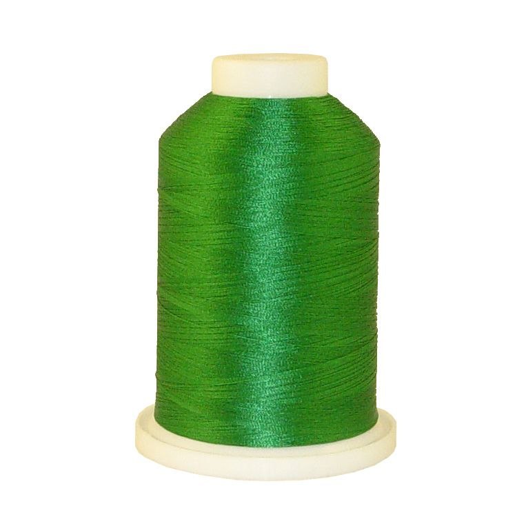 Dark Green # 1322 Iris Trilobal Polyester Machine Embroidery & Quilting Thread - 5500 Yds