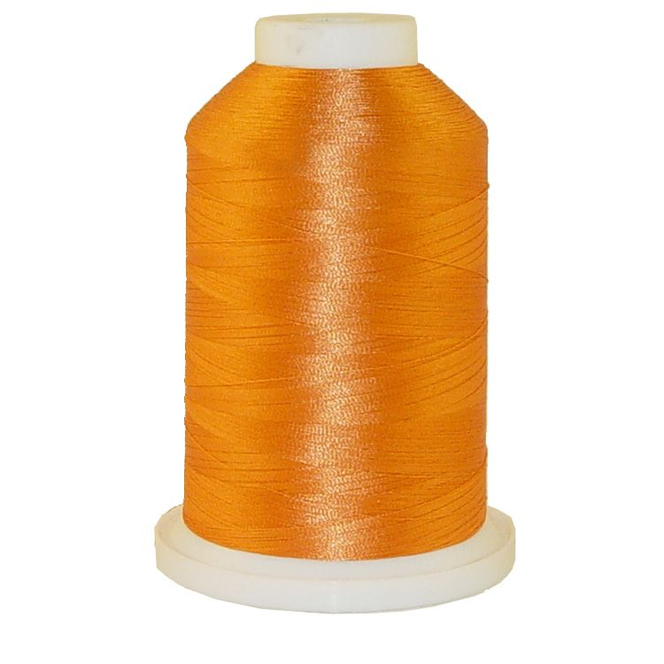 Orange Rust # 1326 Iris Trilobal Polyester Machine Embroidery & Quilting Thread - 5500 Yds
