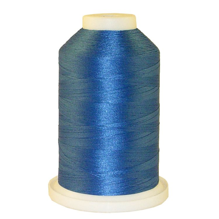 Persian Blue # 1328 Iris Trilobal Polyester Machine Embroidery & Quilting Thread - 5500 Yds