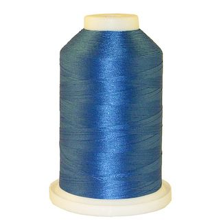 Persian Blue # 1328 Iris Polyester Embroidery Thread - 1100 Yds
