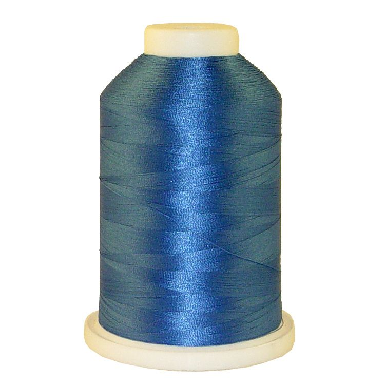 Baltic Blue # 1329 Iris Trilobal Polyester Machine Embroidery & Quilting Thread - 5500 Yds