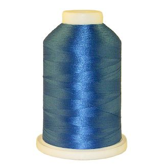 Baltic Blue # 1329 Iris Polyester Embroidery Thread - 1100 Yds