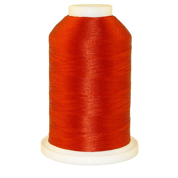 Dark Rust # 1331 Iris Trilobal Polyester Machine Embroidery & Quilting Thread - 5500 Yds