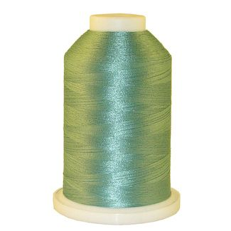 Lt. Salt Water Green # 1338 Iris Polyester Embroidery Thread - 1100 Yds