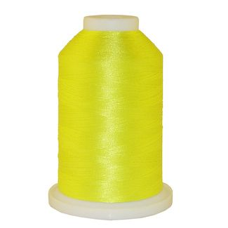 Very Bright Yellow # 1343 Iris Polyester Embroidery Thread - 1100 Yds