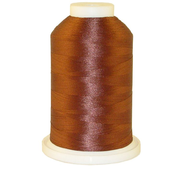 Coffee Bean # 1352 Iris Trilobal Polyester Machine Embroidery & Quilting Thread - 5500 Yds