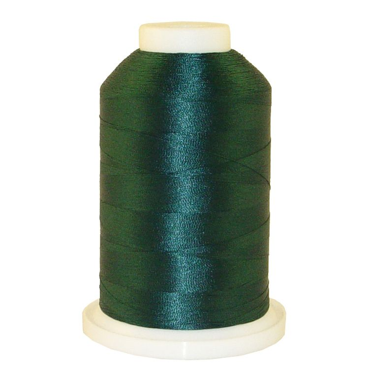 Royal Green # 1354 Iris Trilobal Polyester Machine Embroidery & Quilting Thread - 5500 Yds