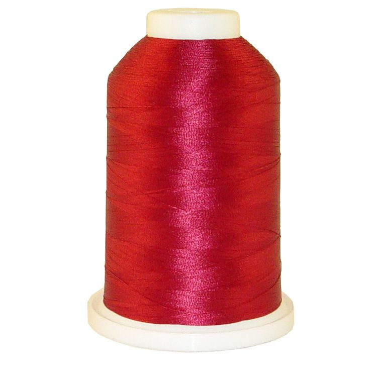 Garnet Rose # 1356 Iris Trilobal Polyester Machine Embroidery & Quilting Thread - 5500 Yds THUMBNAIL