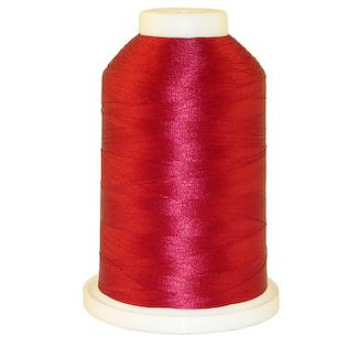 Garnet Rose # 1356 Iris Polyester Embroidery Thread - 1100 Yds