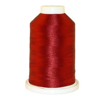 Deep Garnet # 1366 Iris Polyester Embroidery Thread - 1100 Yds