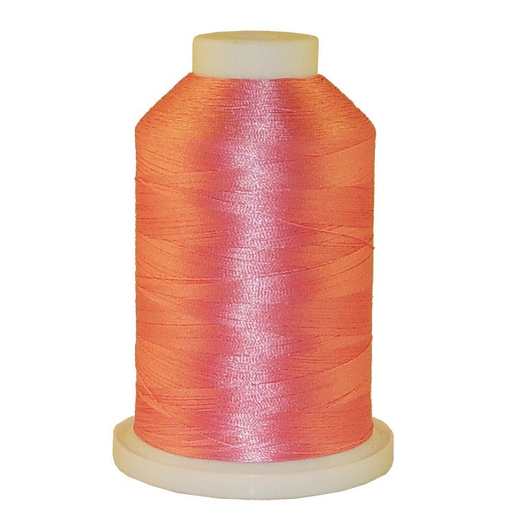 Pink # 1372 Iris Trilobal Polyester Machine Embroidery & Quilting Thread - 5500 Yds