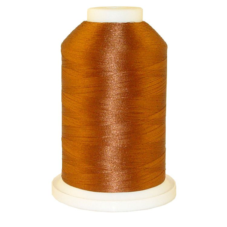 Deck Rust # 1378 Iris Trilobal Polyester Machine Embroidery & Quilting Thread - 5500 Yds