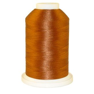 Deck Rust # 1378 Iris Polyester Embroidery Thread - 1100 Yds