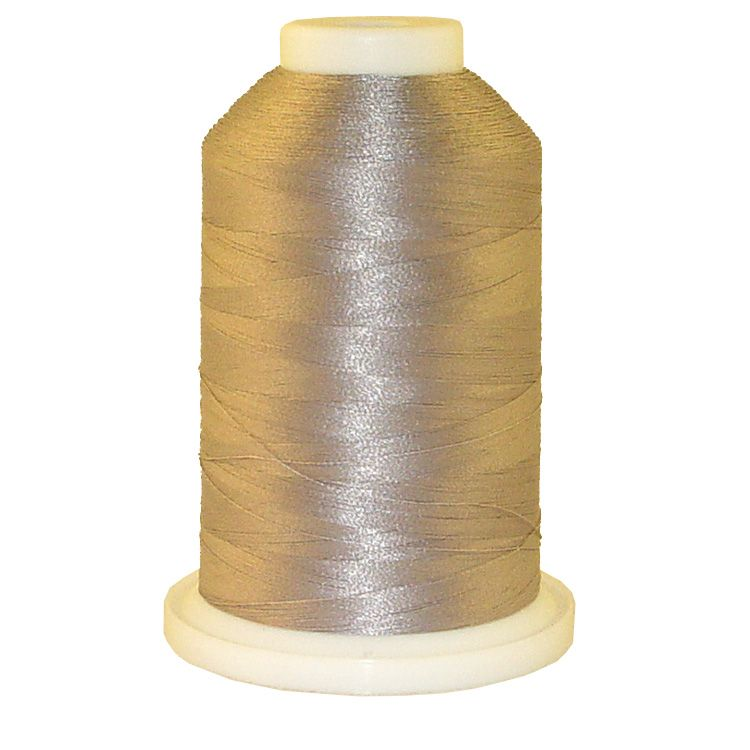 Sunset Grey # 1382 Iris Trilobal Polyester Machine Embroidery & Quilting Thread - 5500 Yds