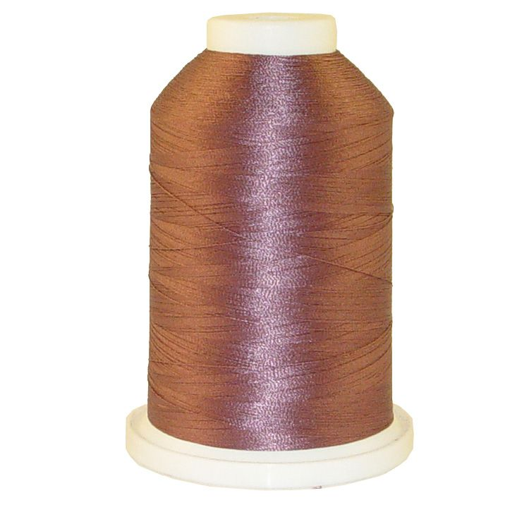 Lt. Mauve # 1384 Iris Trilobal Polyester Machine Embroidery & Quilting Thread - 5500 Yds