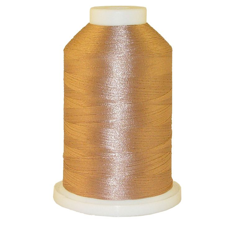 Hi Taupe # 1390 Iris Trilobal Polyester Machine Embroidery & Quilting Thread - 5500 Yds
