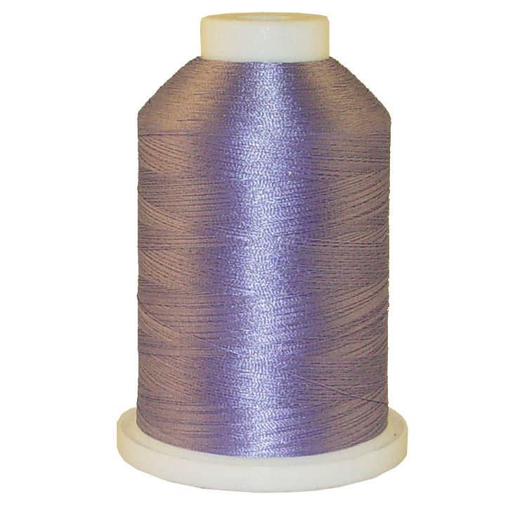 Soft Purple # 1396 Iris Trilobal Polyester Machine Embroidery & Quilting Thread - 5500 Yds