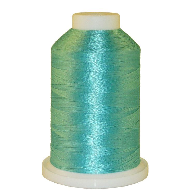 Navajo Teal # 1398 Iris Trilobal Polyester Machine Embroidery & Quilting Thread - 5500 Yds