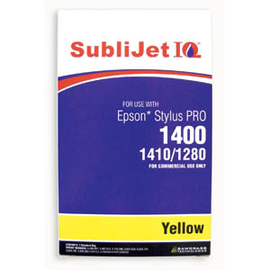 Sublijet Sublimation Ink Yellow Refill Bag Fits Epson 1280 / 1400 MAIN