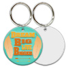 "Sublimation Metal Keychain 2-Sided 2"" Round THUMBNAIL"