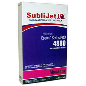 Sublijet Sublimation Ink Magenta (position 3) Standard Cartridge Fits Epson 4880 MAIN