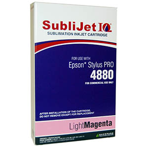 Sublijet Sublimation Ink Light Magenta (position 7) Standard Cartridge Fits Epson 4880
