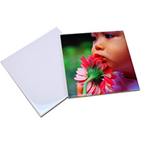 "4.25"" Glossy Ceramic Tile - Sublimation Blank"