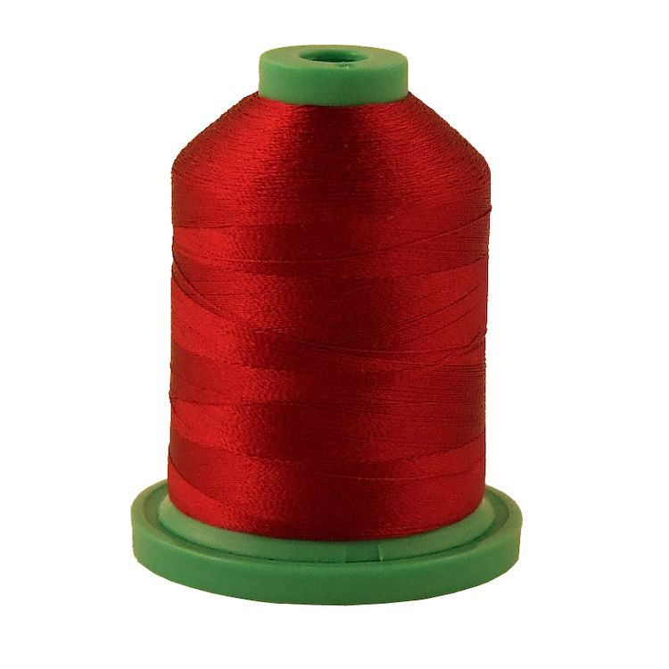 Dark Burgundy # 3714 Rayon Machine Embroidery Thread 5500 Yard King Cone
