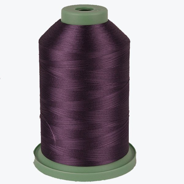 Dark Purple # 3528 Rayon Machine Embroidery Thread 5500 Yard King Cone