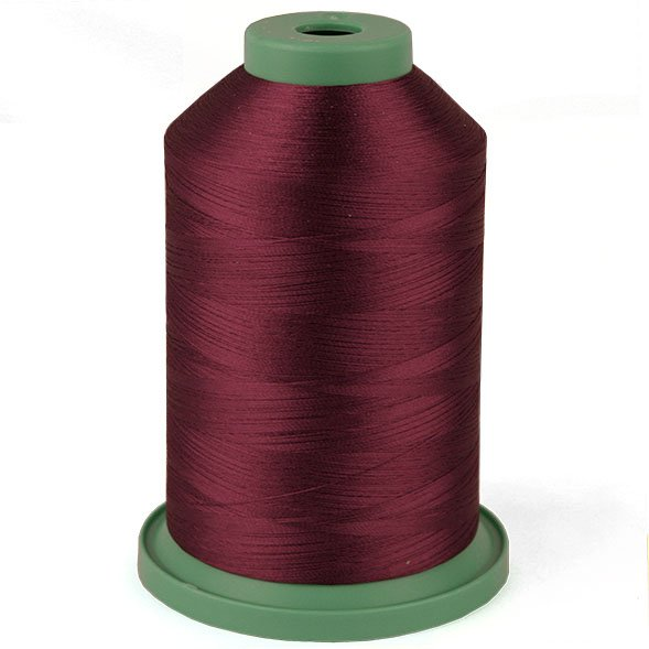 Red Sangria # 3530 Rayon Machine Embroidery Thread 5500 Yard King Cone MAIN