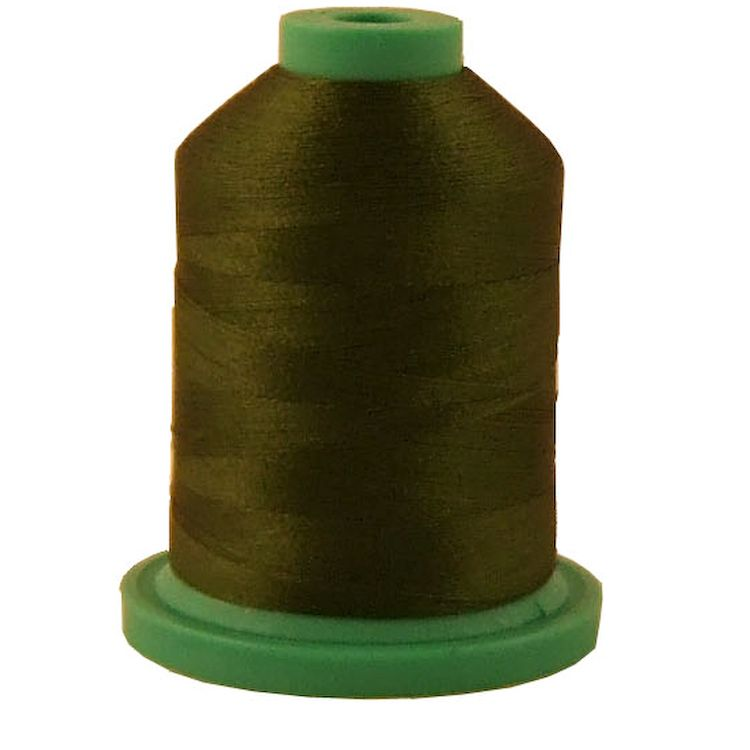 Green Passion # 3558 Rayon Machine Embroidery Thread 5500 Yard King Cone