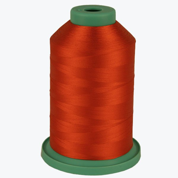 Warm Red # 3580 Rayon Machine Embroidery Thread 5500 Yard King Cone