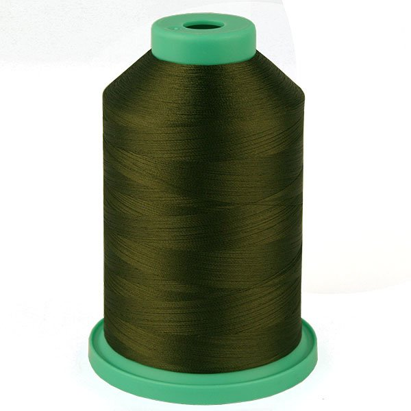 Marine Green # 3597 Rayon Machine Embroidery Thread 5500 Yard King Cone_THUMBNAIL