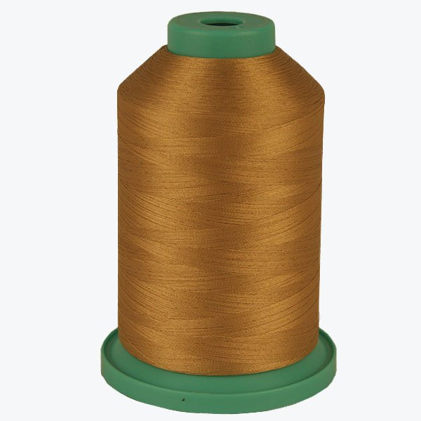 Tangold # 3607 Rayon Machine Embroidery Thread 5500 Yard King Cone