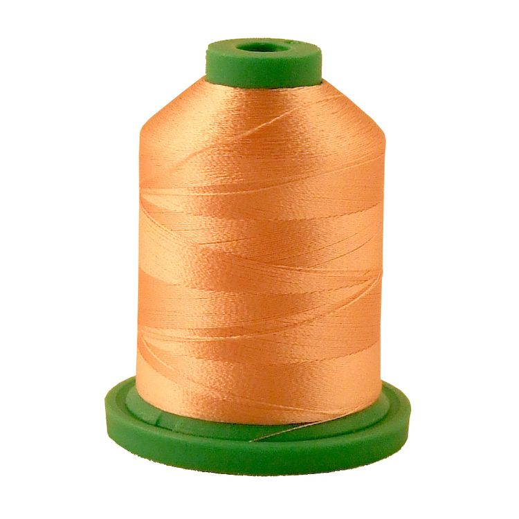 Light Melon # 3701 Rayon Machine Embroidery Thread 5500 Yard King Cone_THUMBNAIL