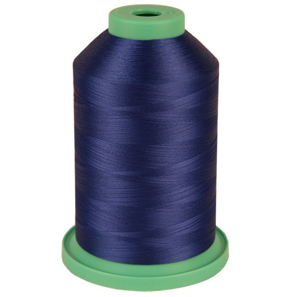 Blue # 3730 Rayon Machine Embroidery Thread 5500 Yard King Cone