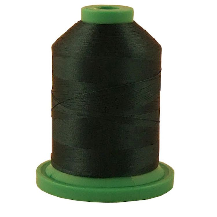 Dark Teal # 3768 Rayon Machine Embroidery Thread 5500 Yard King Cone