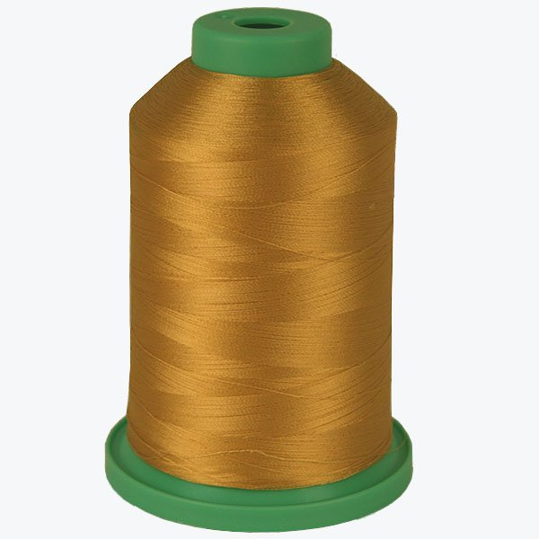 Gold Leaf # 3788 Rayon Machine Embroidery Thread 5500 Yard King Cone MAIN