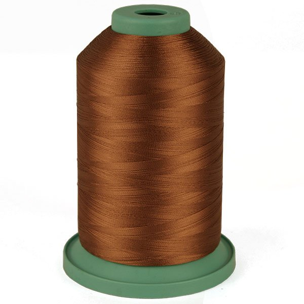 Brown Suede # 3798 Rayon Machine Embroidery Thread 5500 Yard King Cone