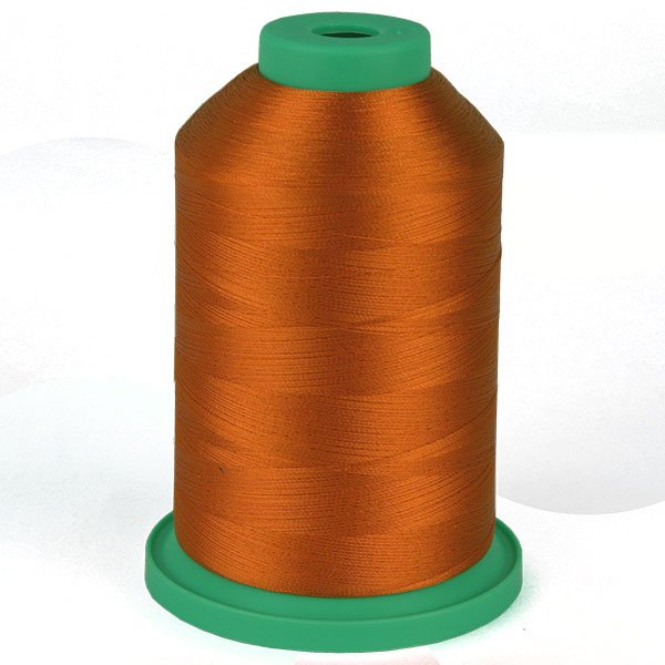 Poppy Orange # 3823 Rayon Machine Embroidery Thread 5500 Yard King Cone