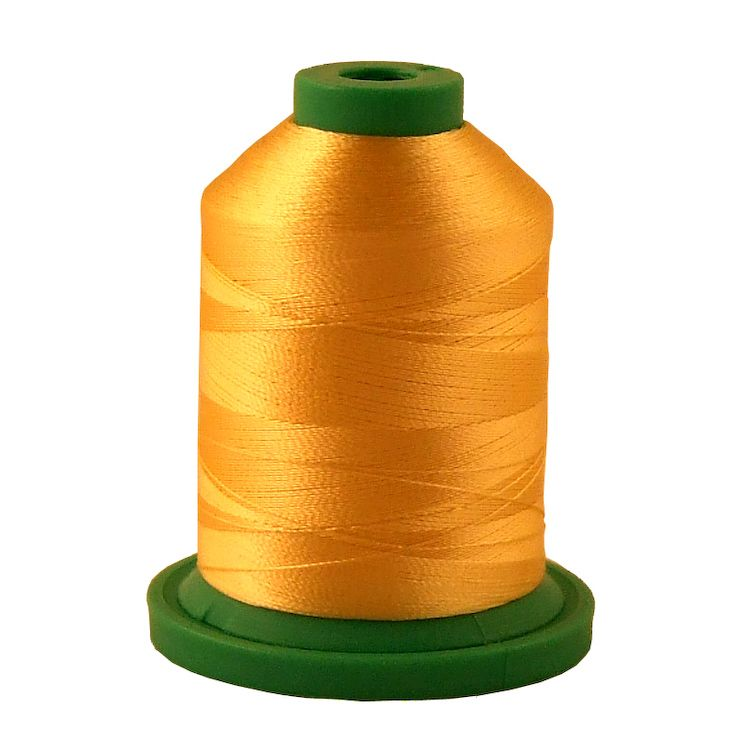 Light Corn # 3986 Rayon Machine Embroidery Thread 5500 Yard King Cone_THUMBNAIL