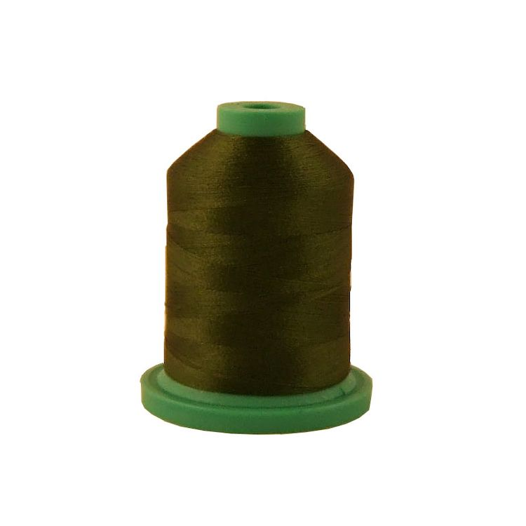 Green Passion # 3558 Iris Rayon Embroidery Thread - 1100 Yds
