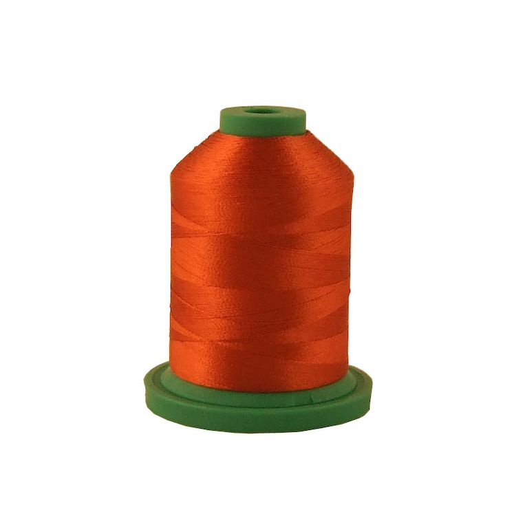Rust # 3822 Iris Rayon Embroidery Thread - 1100 Yds