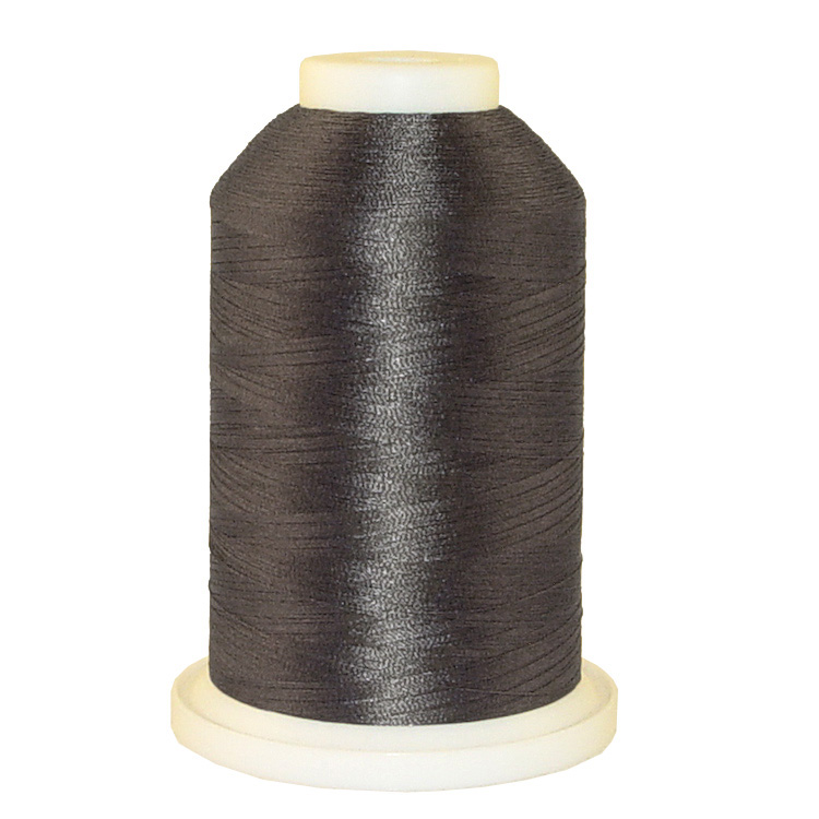 Charcoal # 1251 Iris Trilobal Polyester Machine Embroidery & Quilting Thread - 5500 Yds