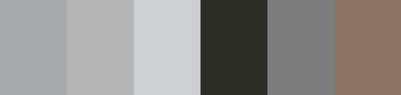 Shades of Grey Palette - Polyester Embroidery Thread 5500 Yard Cones