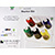 Polyester Embroidery Thread King Cone Starter Kit w/Rack SWATCH