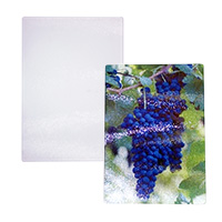 "8"" x 11"" Tempered Glass Cutting Board - Sublimation Blank MAIN"