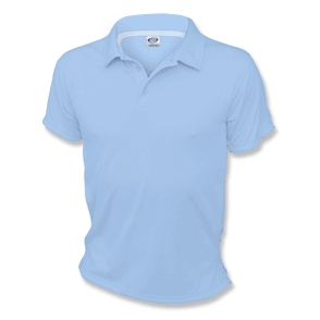Blizzard Blue Vapor Apparel Basic Polo Shirt - Large