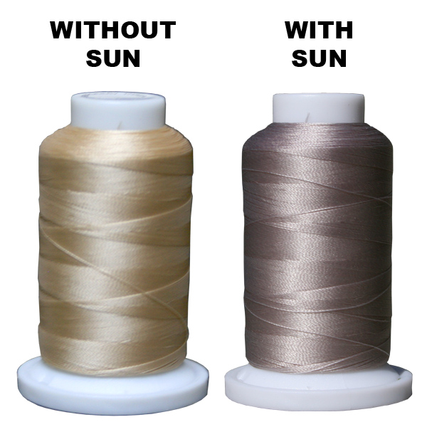 Sunsational Solar Activated Thread (Tan/Brown) 1100 Yard Cone THUMBNAIL