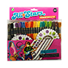 All Stars Craft Thread Friendship Bracelet & Craft Kit by Iris THUMBNAIL
